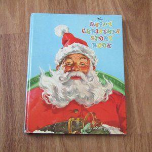 VTG 60s Ideals Christmas Story Book